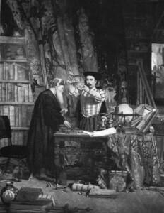 Sir William Fettes Douglas, The Alchemist, 19th century