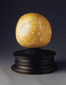 This 5-inch diameter bezoar stone was auctioned off at the British Antique Dealer's Association. It is so large that it was believed to have come from an elephant.