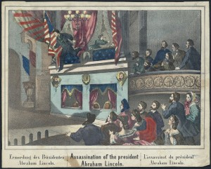 Lincoln's assassination in Ford's Theatre