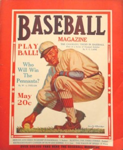 Cover of Baseball Magazine