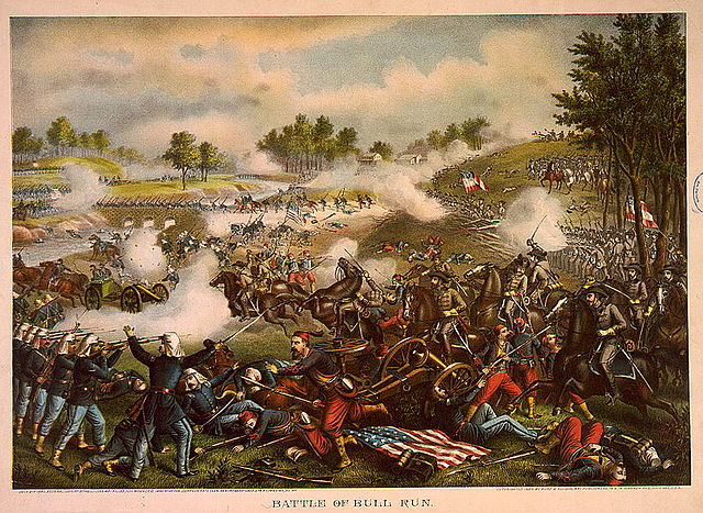 First Battle of Bull Run (Kurz & Allison)