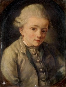 Mozart about the age of eight by Jean Baptise Greuze