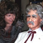 Caroline Lawrence and Mark Twain