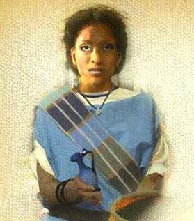 Ivory Bangle Lady