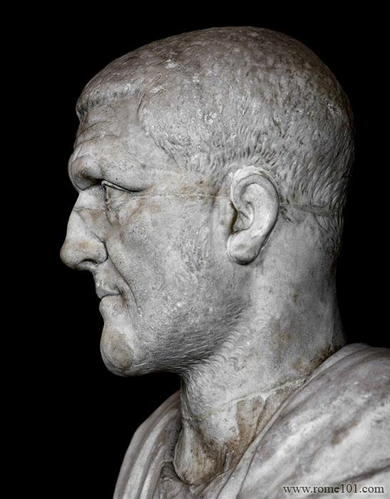 A Giant Roman Emperor: Maximinus