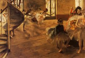 """Degas """"La Répétition"""""""