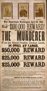 Booth's wanted poster