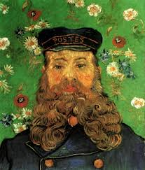 "Van Gogh ""The Postman Roulin"""