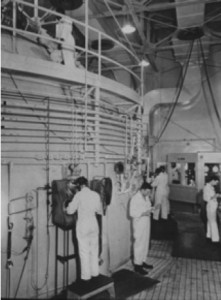 U.S. biological warfare researchers at work at Fort Detrick, Maryland, c. 1968
