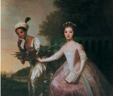 Dido Elizabeth Belle and Lady Elizabeth Murray (Johan Zoffany c. 1780)
