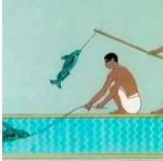 Cleopatra & Antony Go Fishing