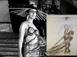 Costume for film Aelita: Queen of Mars (1924)