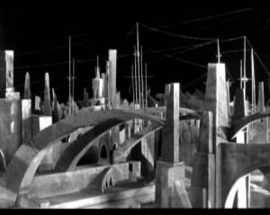 Martian City from film Aelita Queen of Mars (1924)