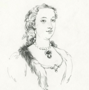 The Duchess, illustration by Lauren Nassef