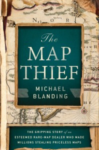 The Map Thief Cover