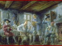 Samuel de Champlain's Thanksgiving Feasts, French Style