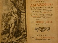 Proving the Existence of Amazons, 1685