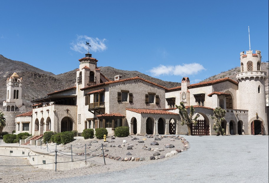 Death Valley Ranch, more commonly known as Scotty's Castle.