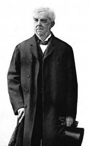 Oliver Wendell Holmes, Sr., in 1891