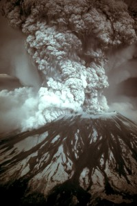 The eruption of Mount St. Helens, May 18, 1980