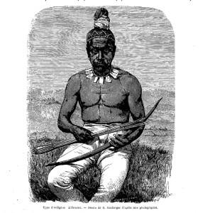 """Indigenous Californian,"" 1862"