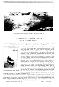 Impressions of Antarctica, 1912