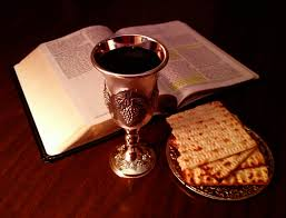 Unleaved bread used for communion