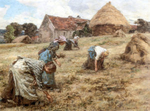 The Gleaners (1898)- Léon-Augustin l'Hermite