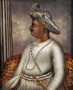 Portrait of Tipu Sultan, artist unknown