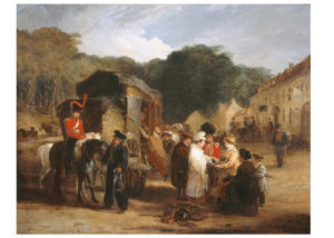 The Village of Waterloo by George Jones