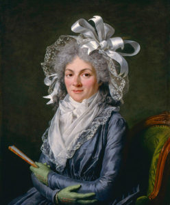 Madame de Genlis by Adélaide Labille-Gulard
