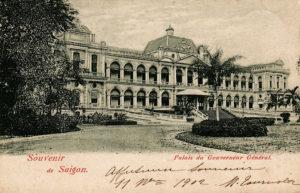 Souvenir de Saigon Palais du Gouverneur Général CPA 1902