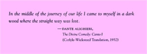 """The epigraph from """"In the Garden of Beasts"""" by Erik Larson"""
