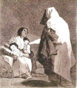 Here Comes the Bogeyman, Francisco Goya. Credit: Brooklyn Museum, Wikimedia Commons.