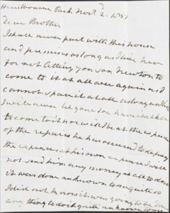 """""""I shall never part with this house"""" Portsmouth's heartfelt letter to his brother (Oneworld Publications)"""