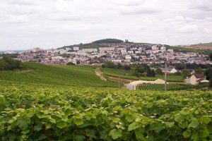The town of Ay, outside of Épernay
