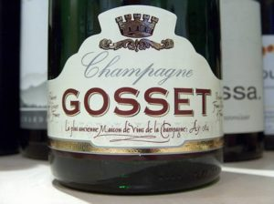 Champagne Gosset in Ay, the oldest champagne house in France