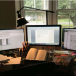 Behind-the-Scenes:  This Writer's Desk